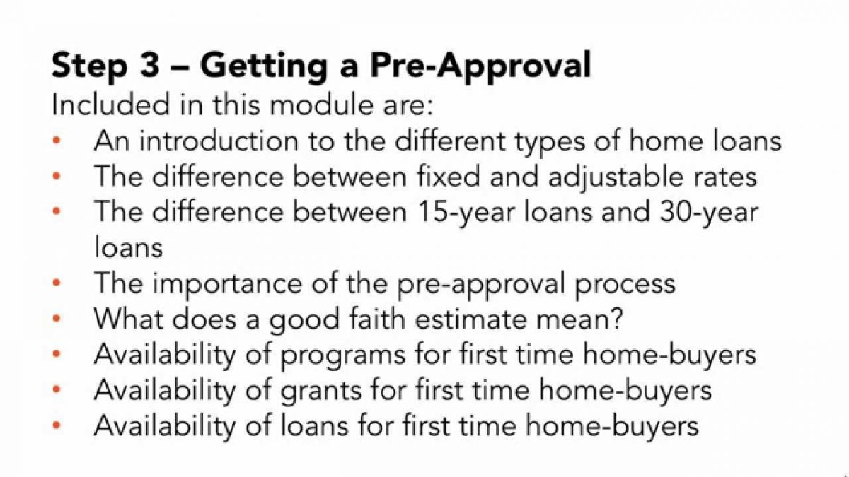 How to Buy a House Step by Step for First Time Home Buyers – Online Course (Tips and Advice)