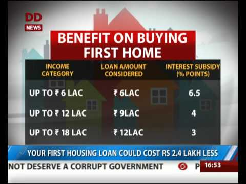 Good News for first Home buyers