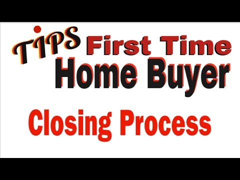 First Time Home Buyer Tips Maryland |  The Closing Process