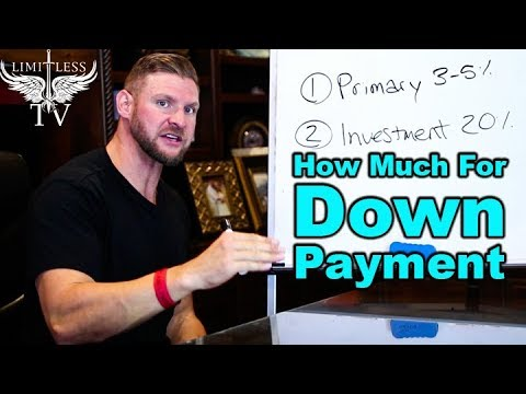 How Much Do I Need For A Down Payment – First Time Home Buyer
