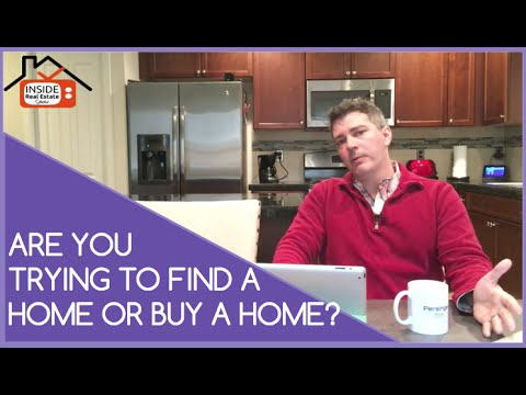 First Time Home Buying Tip: Finding A Home Is NOT Buying A Home | Inside Real Estate Show #022