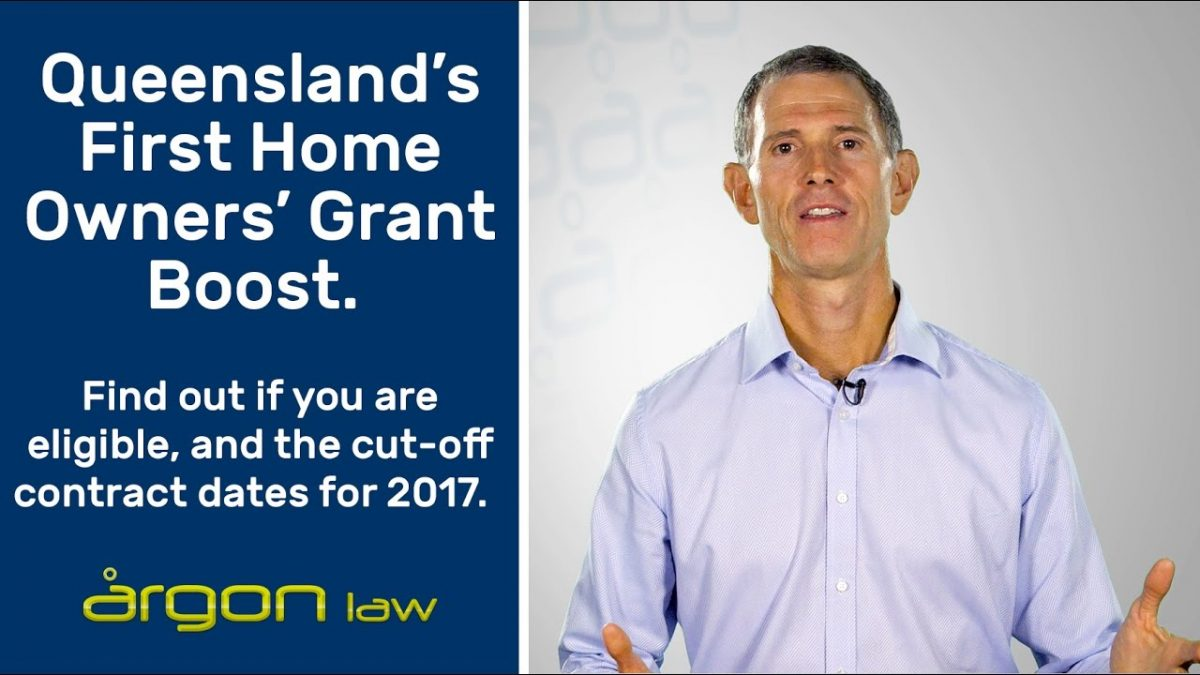 Get in Quick! Queensland's First Home Owners' Grant | Legal Advice from a Sunshine Coast Lawyer